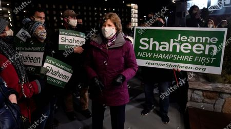Editorial image of 2020 Election Senate Shaheen, Manchester, United States - 03 Nov 2020