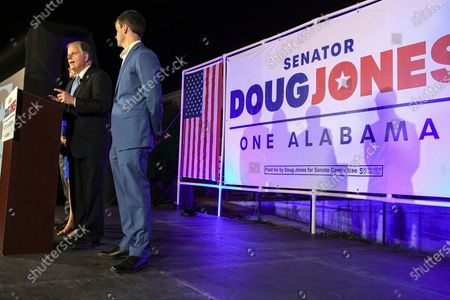 Editorial picture of Election 2020 Senate Jones, Birmingham, United States - 03 Nov 2020