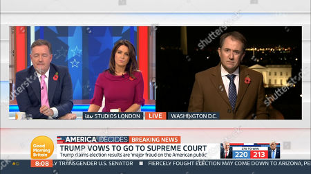 Piers Morgan, Susanna Reid and Richard Gaisford