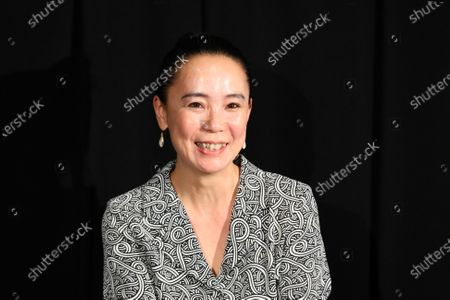 """Naomi Kawase - The 33rd Tokyo International Film Festival. Press conference for the movie """"Tracing Her Shadow"""" in Tokyo, Japan on November 1, 2020."""