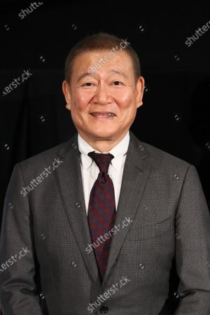 """Stock Photo of Jun Kunimura - The 33rd Tokyo International Film Festival. Press conference for the movie """"Tracing Her Shadow"""" in Tokyo, Japan on November 1, 2020."""