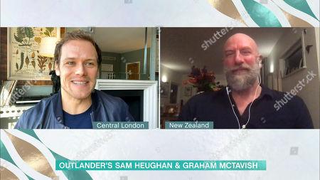 Sam Heughan and Graham McTavish