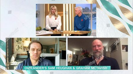 Holly Willoughby, Phillip Schofield, Sam Heughan and Graham McTavish