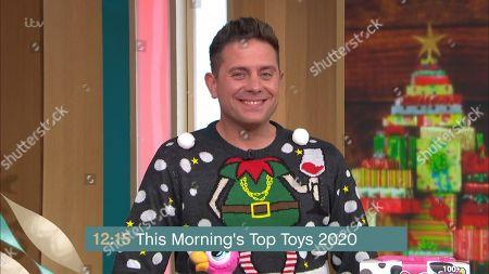 Editorial image of 'This Morning' TV Show, London, UK - 04 Nov 2020