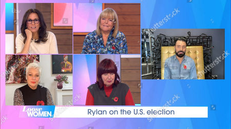 Andrea McLean, Linda Robson, Denise Welch, Janet Street-Porter and Rylan Clark