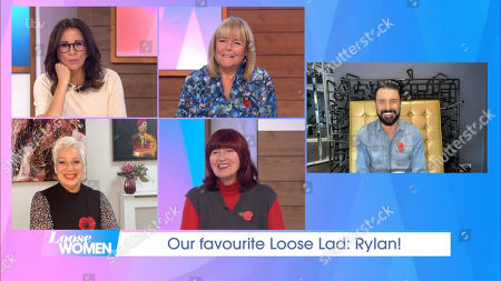 Stock Picture of Andrea McLean, Linda Robson, Denise Welch, Janet Street-Porter and Rylan Clark