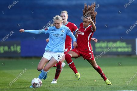 Editorial image of Liverpool Women v Manchester City Women, FA Women's Continental Cup - 04 Nov 2020