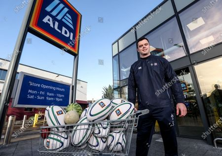 Aldi has announced today the signing of Ireland rugby international James Ryan as an ambassador for the Aldi Play Rugby Programme. James joins Paul O'Connell on the team, with Paul having worked with Aldi since Aldi's partnership of the programme commenced in 2016. James kicked off his role with a socially-distant delivery of Aldi Play Rugby training equipment to Scoil Maelruain, Old Bawn, Tallaght who will be among the primary schools participating in the programme with online support from the IRFU community rugby officers. Today's announcement underpins Aldi's ongoing commitment to and support of the sport of rugby as the Official Fresh Food partner to the IRFU. For more information see www.aldi.ie/playrugby.
