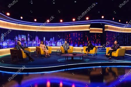 Rob Beckett, Sindu Vee, Jonathan Ross, Motsi Mabuse and Craig Revel Horwood