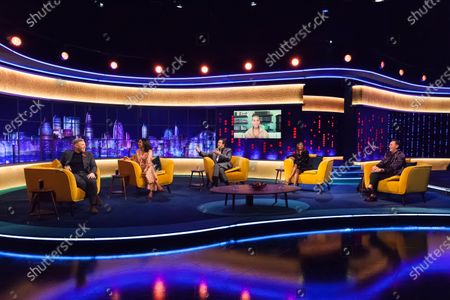 Rob Beckett, Sindu Vee, Jonathan Ross, Motsi Mabuse, Craig Revel Horwood and Alicia Keys