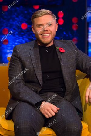 Editorial image of 'The Jonathan Ross Show' TV show, Series 16, Episode 4, London, UK - 07 Nov 2020
