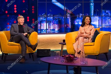 Stock Photo of Rob Beckett and Sindu Vee
