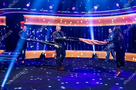 Editorial picture of 'The Jonathan Ross Show' TV show, Series 16, Episode 4, London, UK - 07 Nov 2020