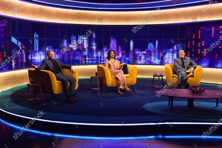 Rob Beckett, Sindu Vee and Jonathan Ross
