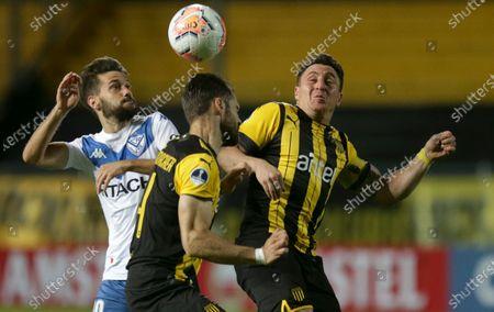 Editorial picture of Argentina Soccer Copa Sudamericana, Montevideo, Uruguay - 04 Nov 2020