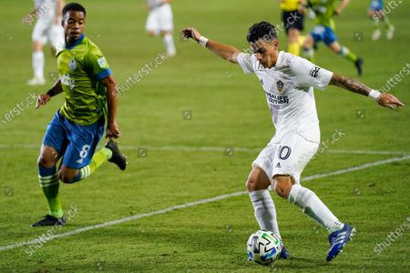 Editorial photo of MLS Sounders Galaxy Soccer, Carson, United States - 04 Nov 2020