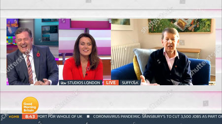 Editorial photo of 'Good Morning Britain' TV Show, London, UK - 05 Nov 2020