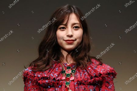 """Ayami Nakajo - The 33rd Tokyo International Film Festival. Press conference for the  movie""""Flight on the Water"""" in Tokyo, Japan on November 4, 2020."""