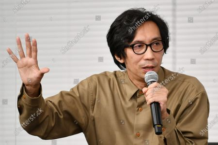 """Isao Yukisada - The 33rd Tokyo International Film Festival. Press conference for the  """"Special session The Future of Cinema and Streaming"""" in Tokyo, Japan on November 4, 2020."""