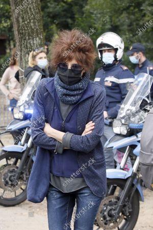 Editorial photo of Funeral of Gigi Proietti, Rome, Italy - 05 Nov 2020