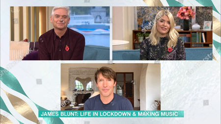 Phillip Schofield, Holly Willoughby, James Blunt