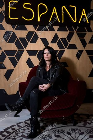 Maryam Touzani poses for the photographer as she grants an interview to Agencia Efe in Madrid, Spain, 04 November 2020 (issued on 05 November 2020). Touzani presents her film 'Adam' that opens in Spanish cinemas on 06 November.