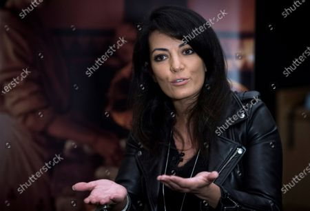 Maryam Touzani grants an interview to Agencia Efe in Madrid, Spain, 04 November 2020 (issued on 05 November 2020). Touzani presents her film 'Adam' that opens in Spanish cinemas on 06 November.