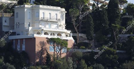 Stock Image of Villa previously owned by Sean Connery on the French Riviera in Nice