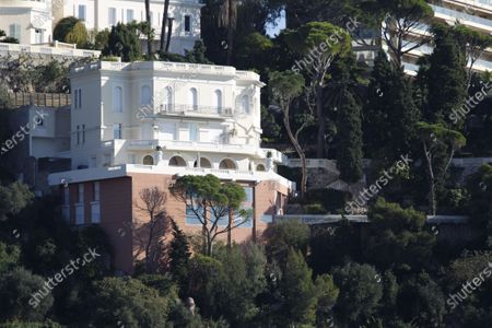 Stock Picture of Villa previously owned by Sean Connery on the French Riviera in Nice