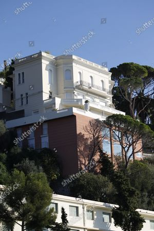 Editorial photo of 1920's Villa previously owned by Sean Connery in Nice, France - 05 Nov 2020