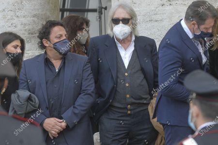 Editorial picture of Gigi Proietti funeral, Rome, Italy - 05 Nov 2020