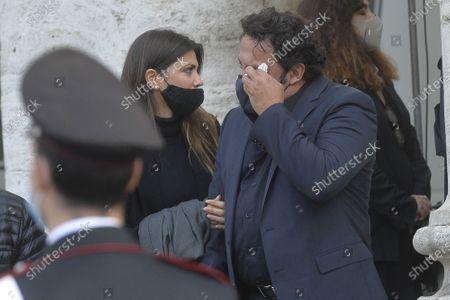 Editorial image of Gigi Proietti funeral, Rome, Italy - 05 Nov 2020