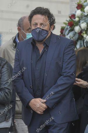 Editorial photo of Gigi Proietti funeral, Rome, Italy - 05 Nov 2020