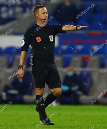 Editorial photo of Cardiff City v Bristol City, EFL Sky Bet Championship, Football, Cardiff City Stadium, Cardiff, UK - 6 Nov 2020