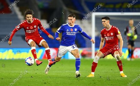 Editorial image of Cardiff City v Bristol City, EFL Sky Bet Championship, Football, Cardiff City Stadium, Cardiff, UK - 6 Nov 2020