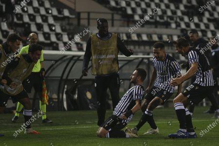 Editorial photo of Soccer Europa League, Thessaloniki, Greece - 05 Nov 2020