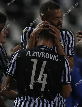 Editorial picture of Soccer Europa League, Thessaloniki, Greece - 05 Nov 2020