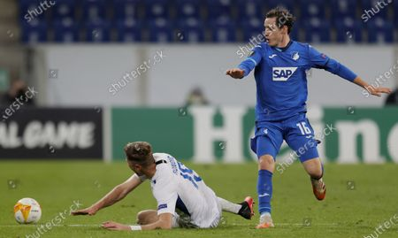 Editorial picture of TSG 1899 Hoffenheim vs FC Slovan Liberec, Sinsheim, Germany - 05 Nov 2020