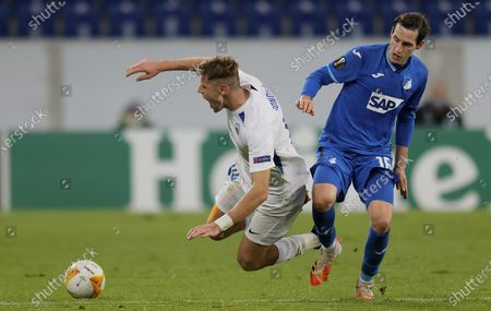 Editorial photo of TSG 1899 Hoffenheim vs FC Slovan Liberec, Sinsheim, Germany - 05 Nov 2020