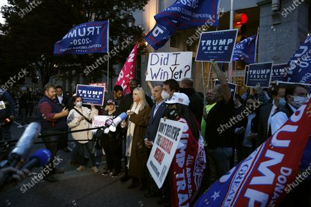 Editorial image of Election 2020 Protests , Philadelphia, United States - 05 Nov 2020