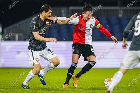 Editorial picture of Feyenoord v CSKA Moskou, Eredivisie, Football, De Kuip, Rotterdam, Netherlands - 05 Nov 2020