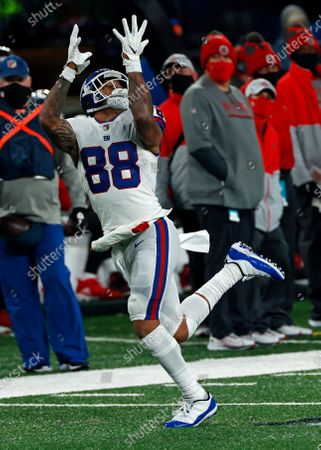 New York Giants tight end Evan Engram (88) in action during an NFL football game against the Tampa Bay Buccaneers, in East Rutherford, N.J