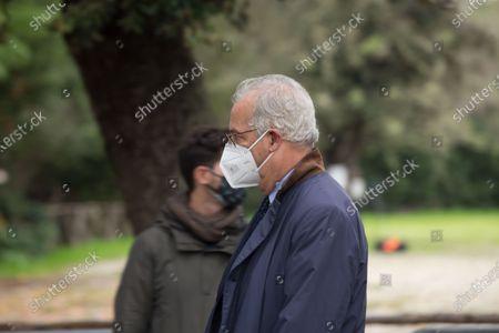 Editorial picture of In memory of Gigi Proietti, Rome, RM, Italy - 05 Nov 2020