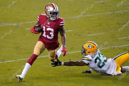 Editorial image of Packers 49ers Football, Santa Clara, United States - 05 Nov 2020