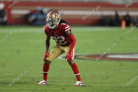 San Francisco 49ers cornerback Jason Verrett (22) against the Green Bay Packers during an NFL football game in Santa Clara, Calif