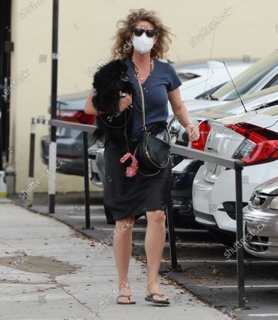 Editorial image of Rachel Hunter out and about, Los Angeles, USA - 05 Nov 2020