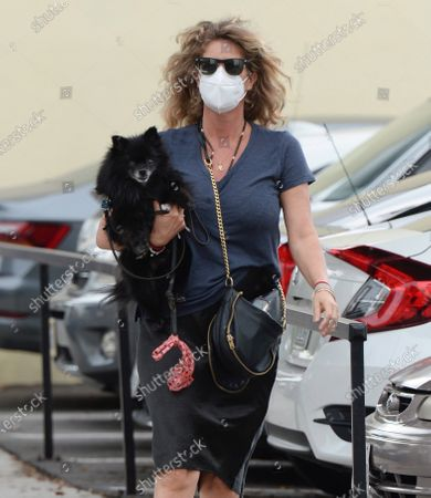 Editorial photo of Rachel Hunter out and about, Los Angeles, USA - 05 Nov 2020