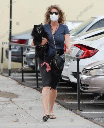 Editorial picture of Rachel Hunter out and about, Los Angeles, USA - 05 Nov 2020