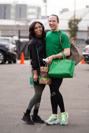 Editorial photo of 'Dancing with the Stars' TV show rehearsal, Los Angeles, USA - 05 Nov 2020