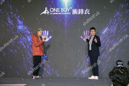 Editorial picture of Nick Chou attends a press conference, Taipei, Taiwan, China - 05 Nov 2020